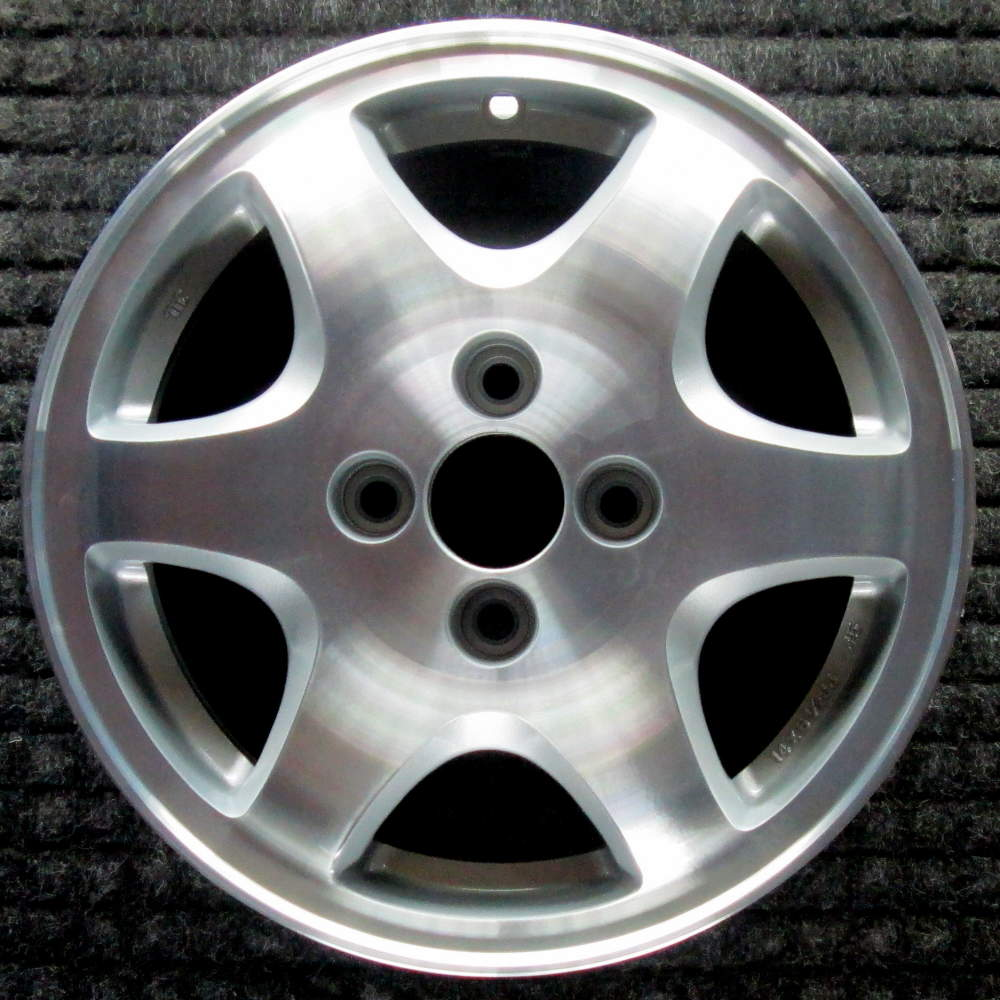 Acura Integra Machined W/ Silver Pockets 14 Inch OEM Wheel
