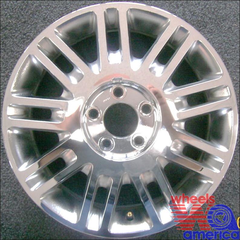 Lincoln Town Car 17 Oem Chrome Wheel 2006 2011 6w1z1007da 6w1z1130ba