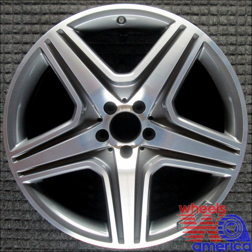 "Mercedes-Benz ML63 20"" No Variations OEM Wheel 2012-2016"