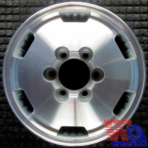 wheel rim isuzu trooper 16 1992-1994 8970189033 machined oem factory
