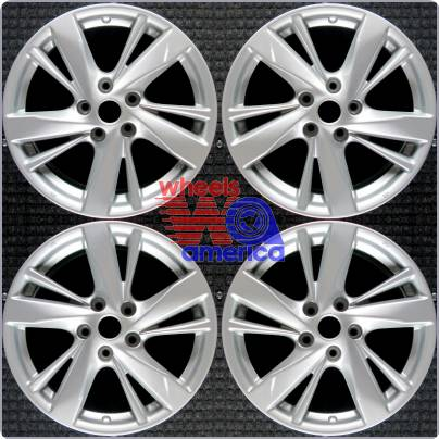 set of 4 factory wheels rims nissan altima 2013 2014 2015 17x7 5 74637 ebay. Black Bedroom Furniture Sets. Home Design Ideas