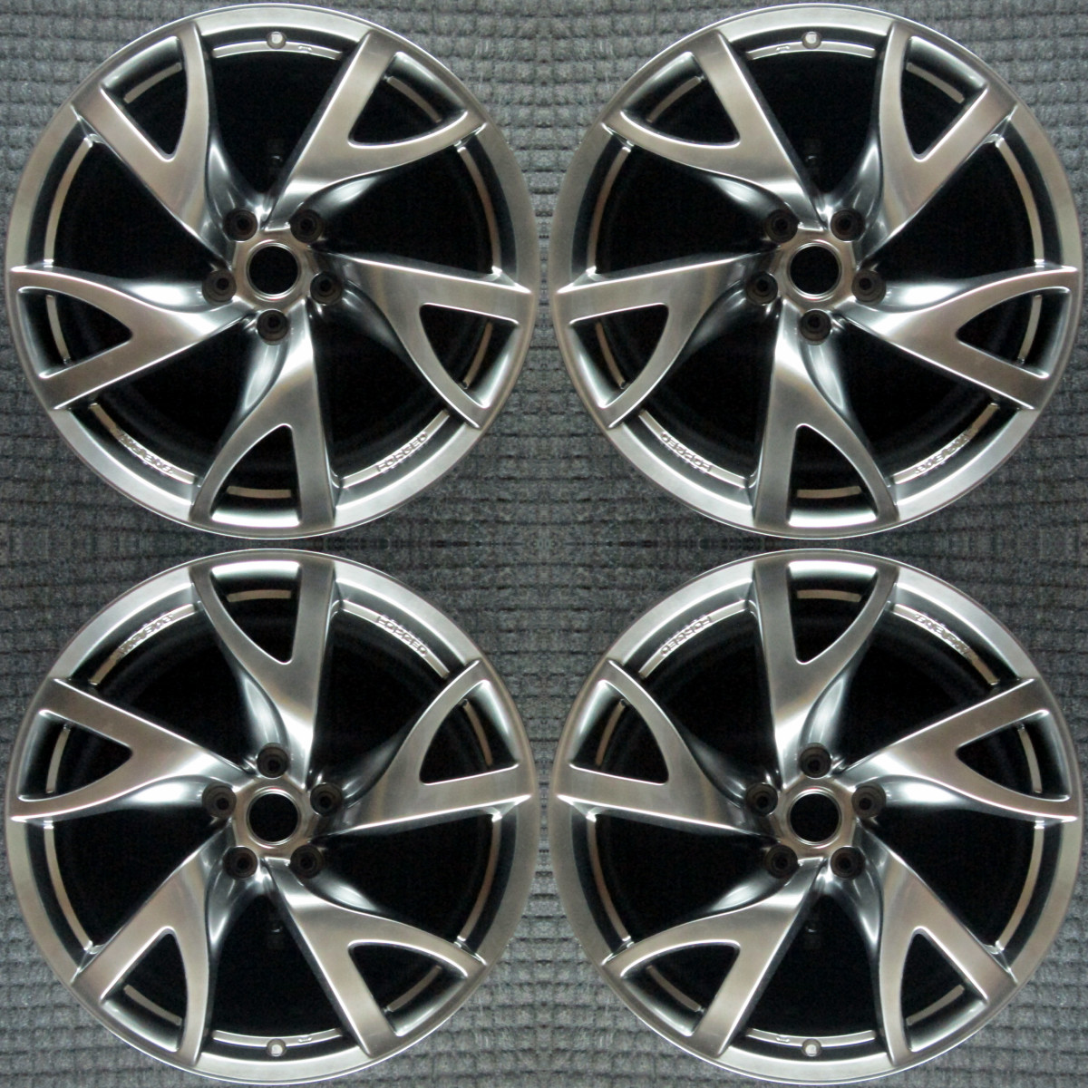 nissan 370z 19 u0026quot  oem 4 wheel set 2013