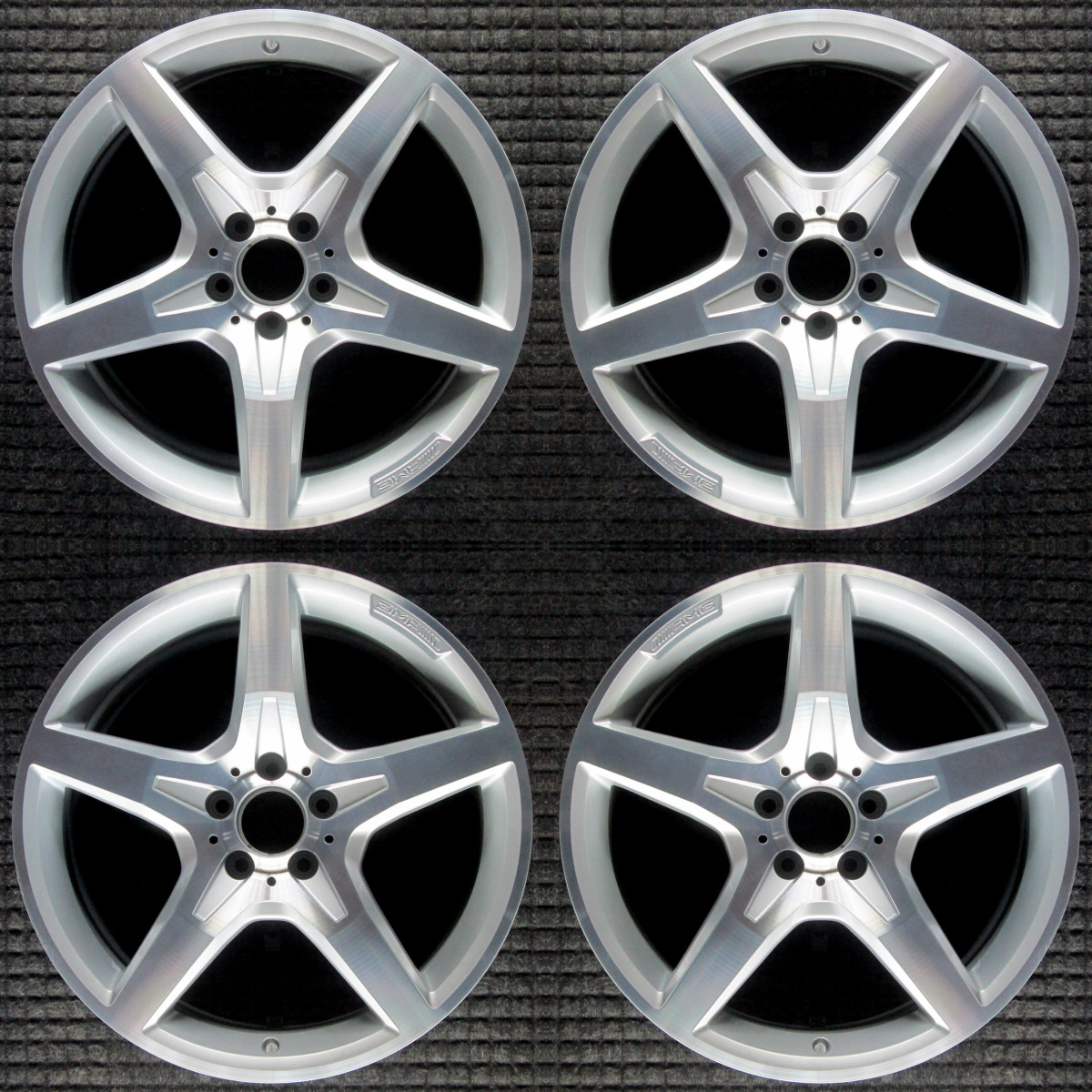 "Mercedes-Benz SL550 19"" OEM 4 Wheel Set 2013-2017"