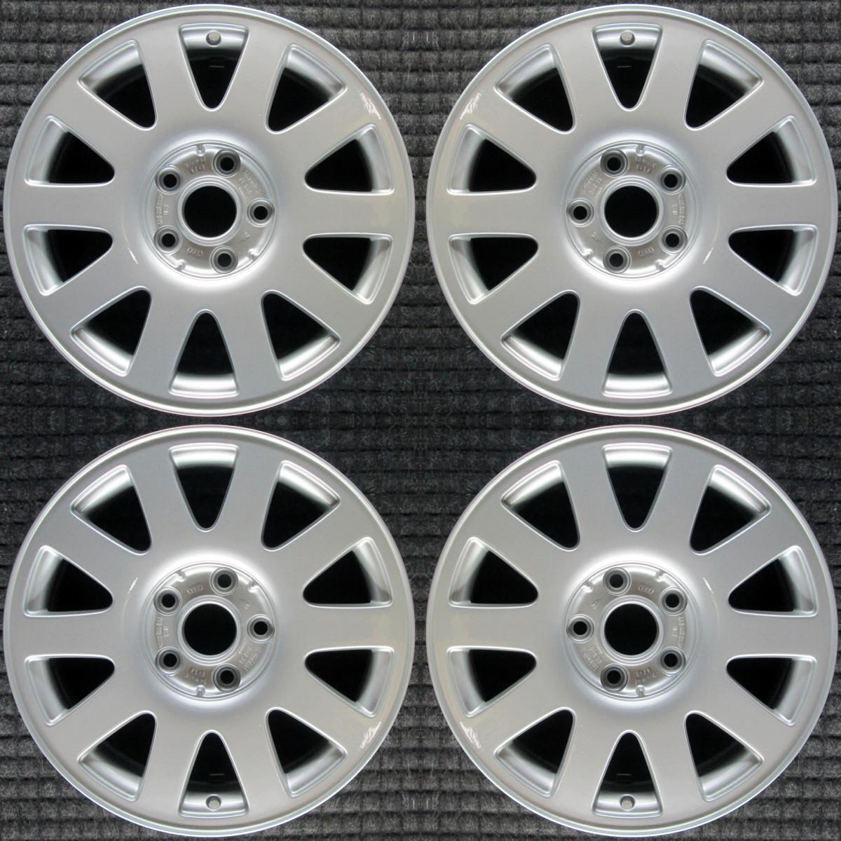 "Audi A6 16"" OEM 4 Wheel Set 2000-2004 8D0601025PZ17"