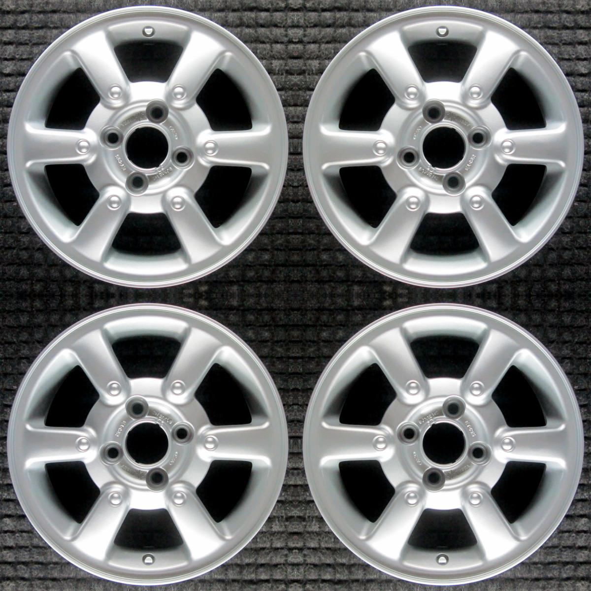 ford contour all silver 15 oem wheel set 1996 to 2000 ebay ebay