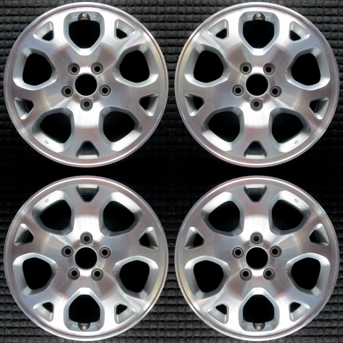 "Acura MDX Machined W/ Silver Pockets 17"" OEM Wheel Set"