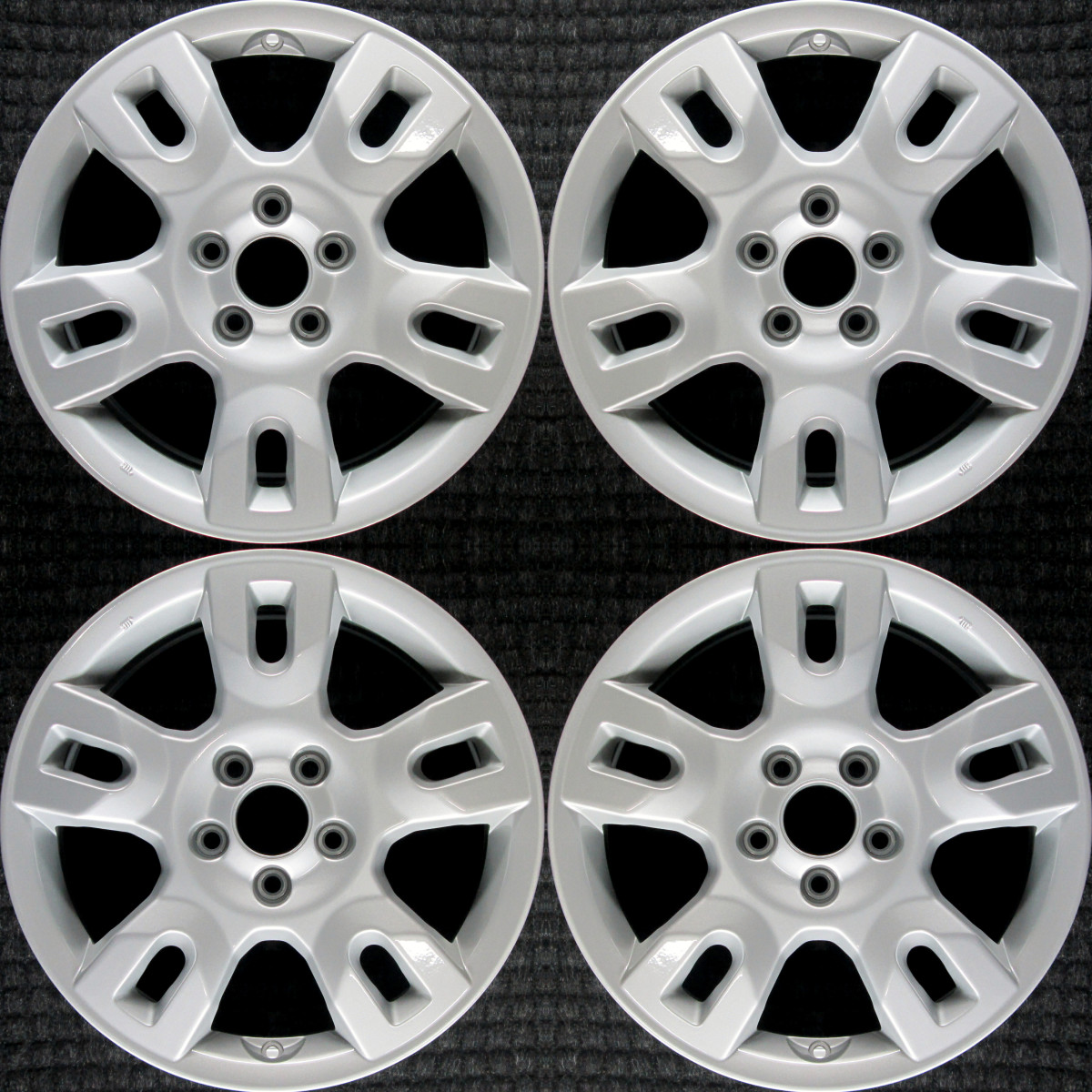 """Acura MDX All Silver 17"""" OEM Wheel Set 2004 To 2006"""