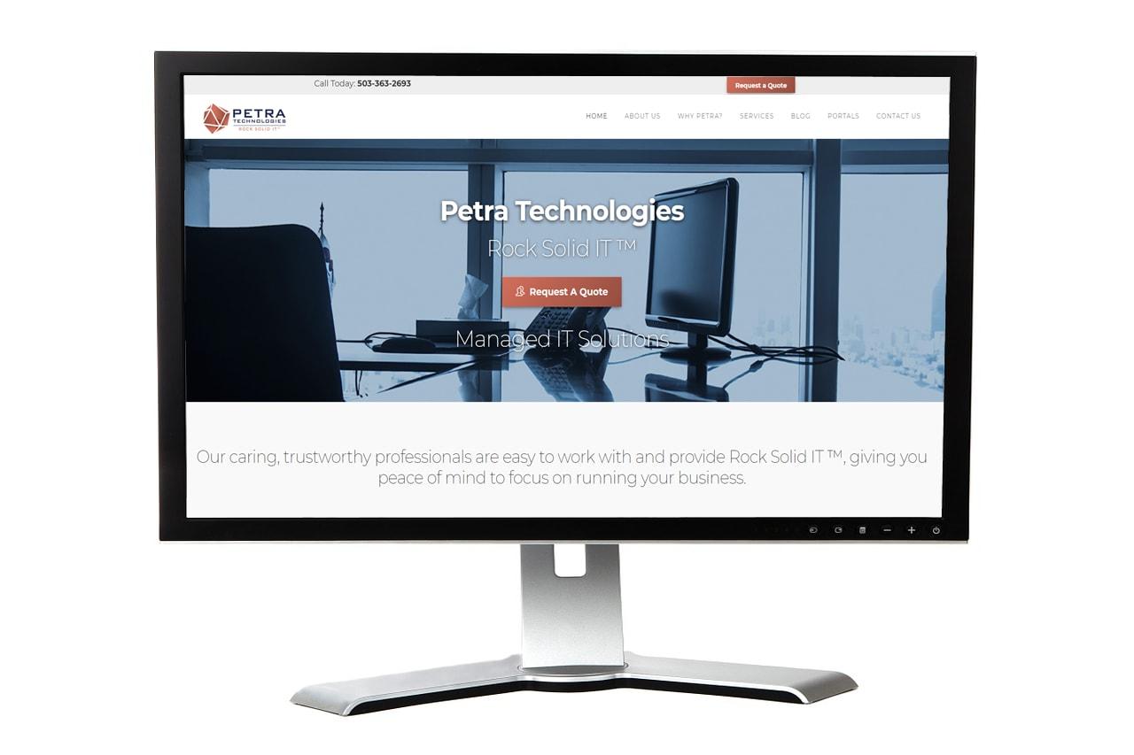 Petra Technologies Website – Salem, Oregon