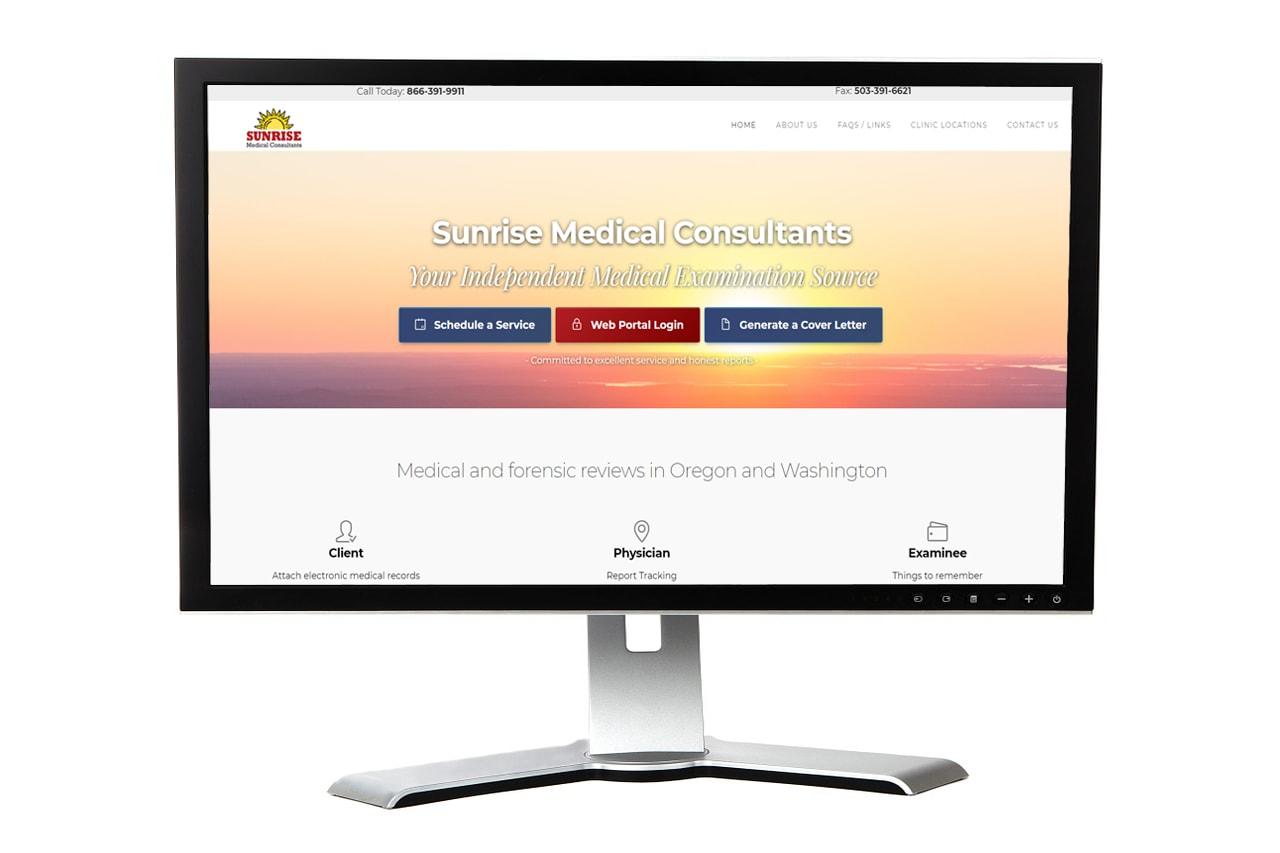 Sunrise Medical Consultants Website – Keizer, Oregon