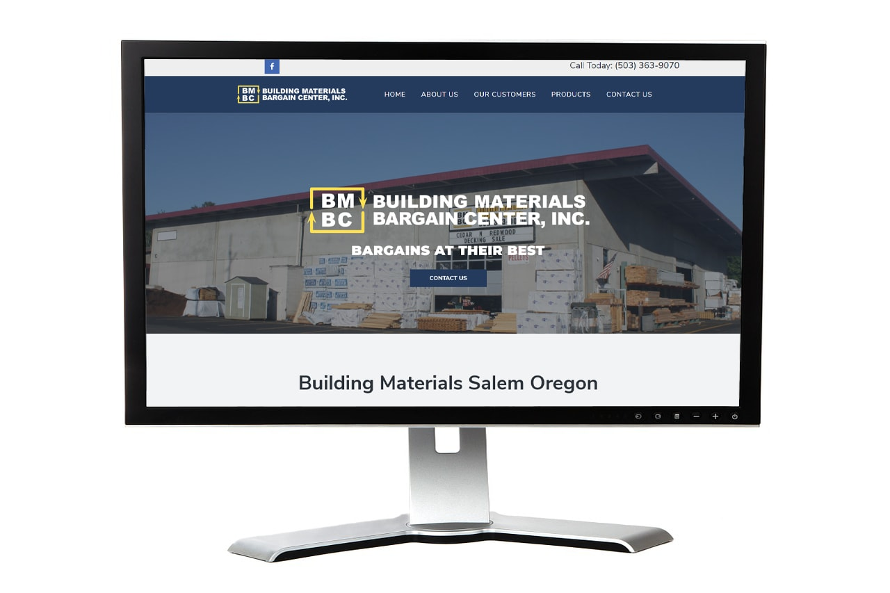 Building Materials Bargain Center Website – Salem, Oregon