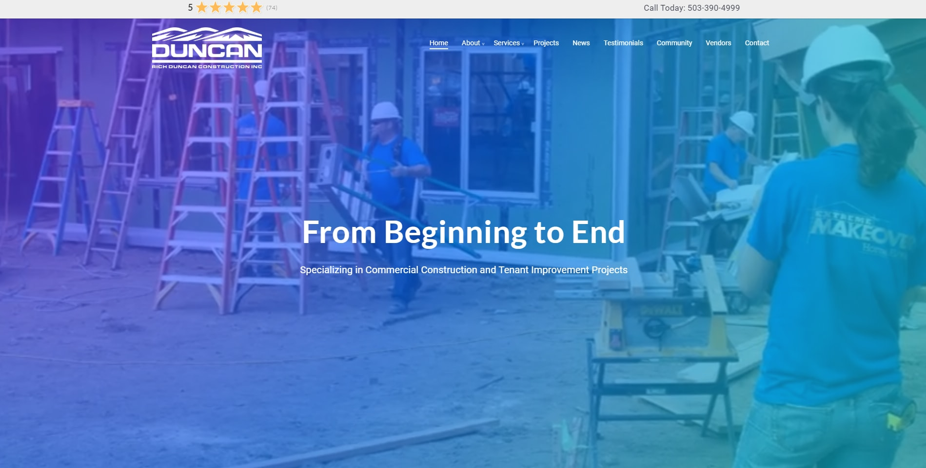 Jet Utilities Website – Salem, Oregon