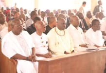 Gov. Okowa Attends Thanksgiving Service