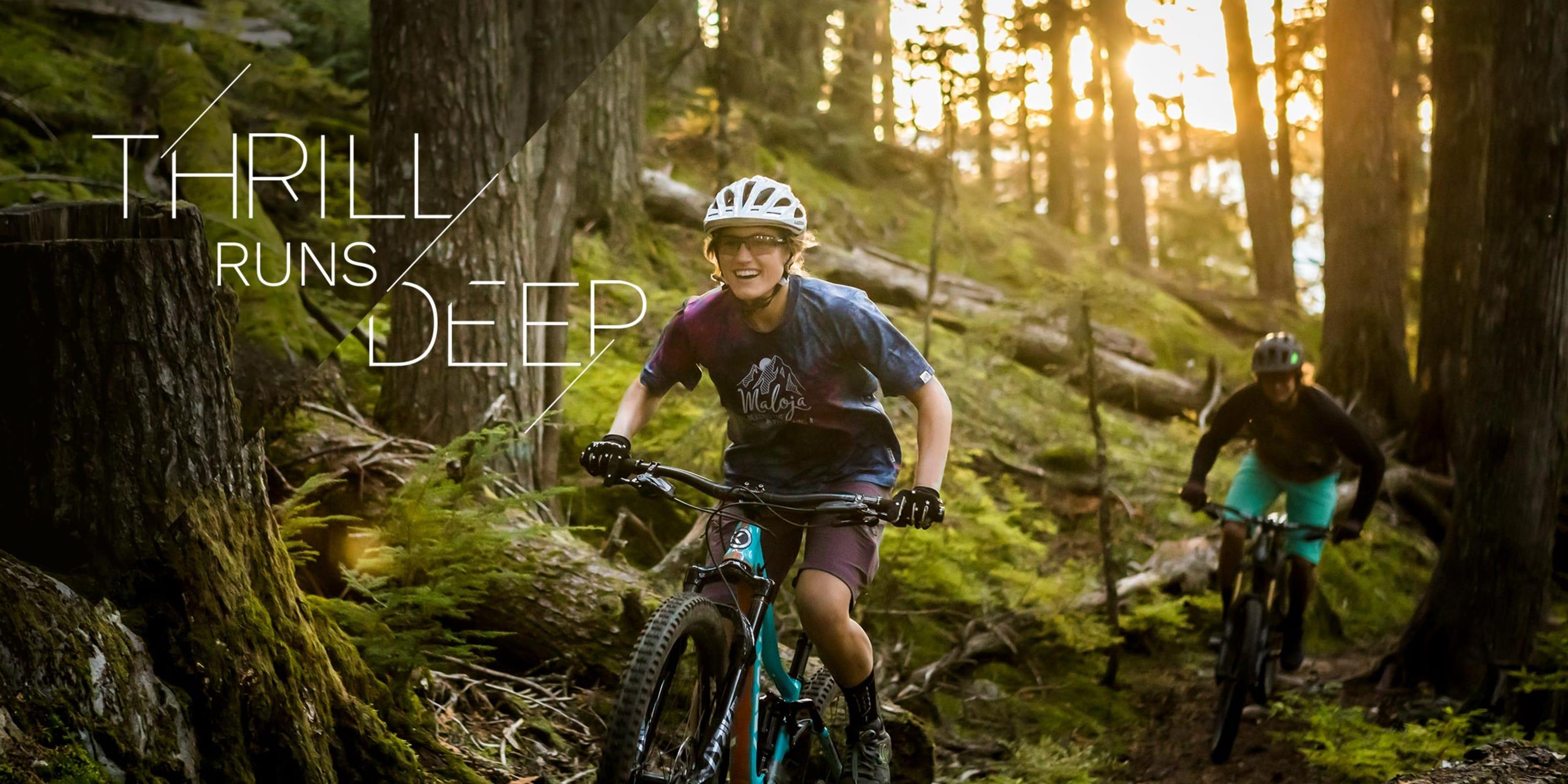 Thrill runs deep when riding in Whistler BC Canada