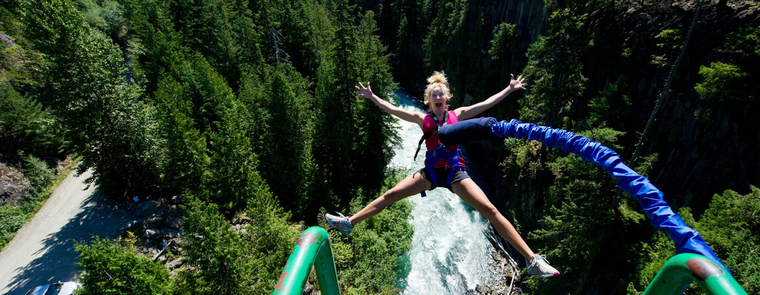 Whistler BC Canada   Bungee Jumping   Tourism Whistler