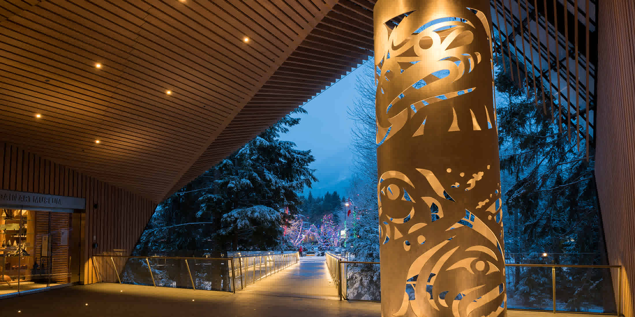 Art gallery at Audain Art Museum in Whistler