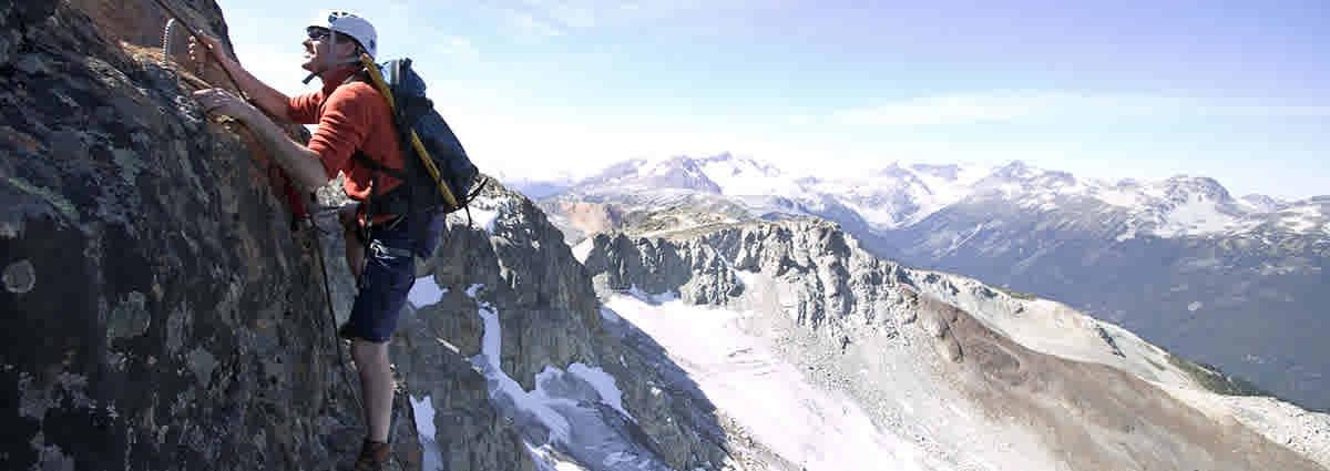 Climbing Whistler