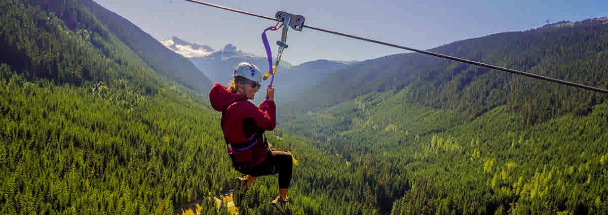 Summer Ziplining Whistler