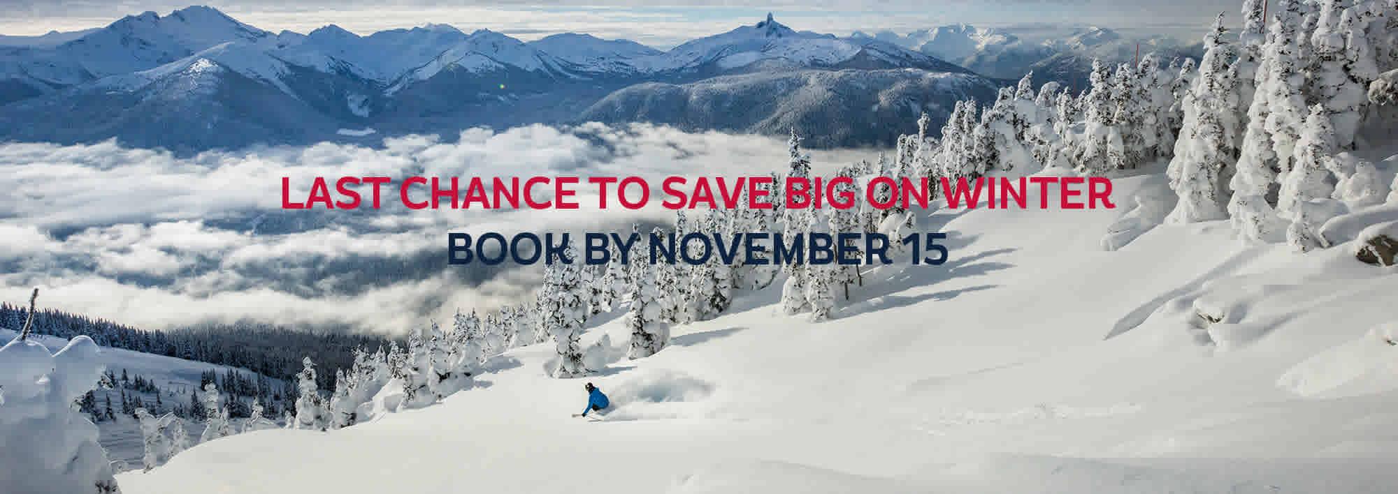 Skiing Whistler Blackcomb Canada