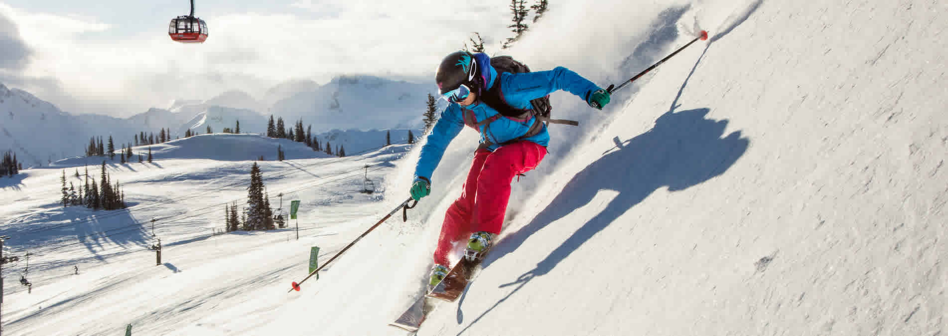 Skiing Whistler Blackcomb Canada