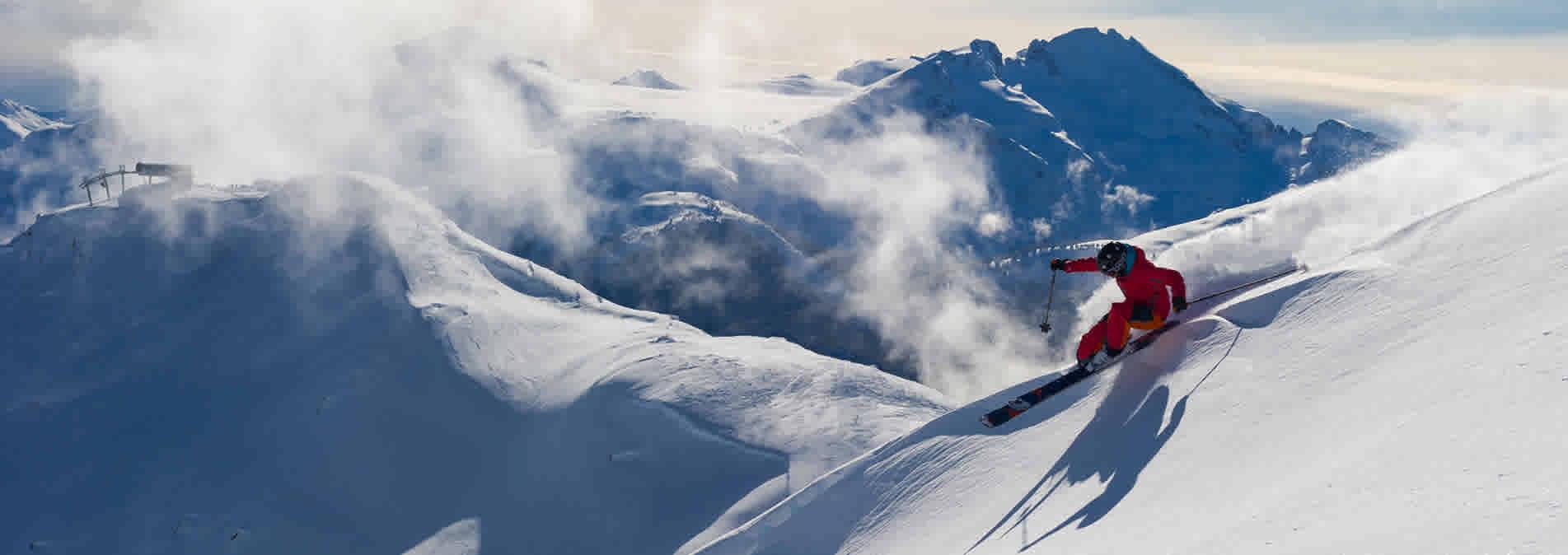 Ski Whistler Blackcomb Canada