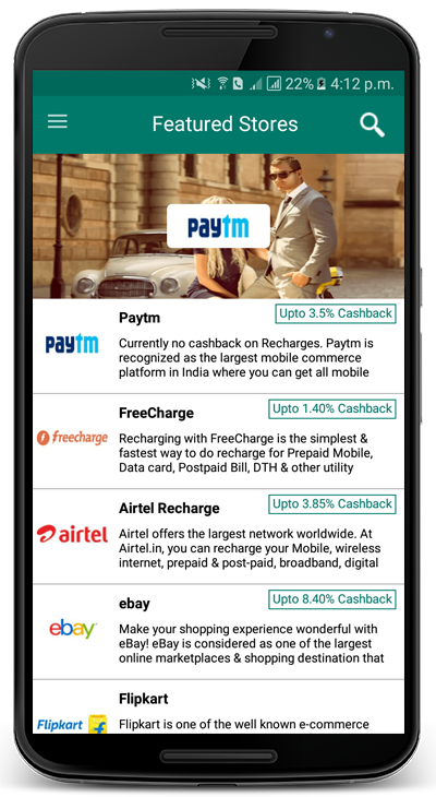 highest cashback Android app