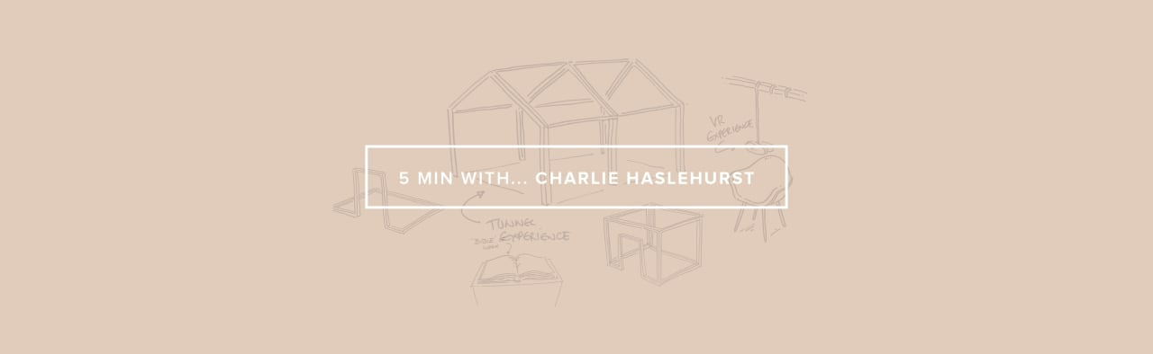 WR 5 MINUTES WITH CHARLIE HASLEHIRST BANNER18 03 19
