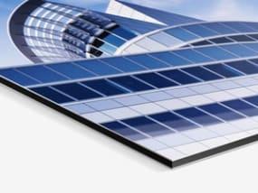 Photo Print On Aluminum Backing