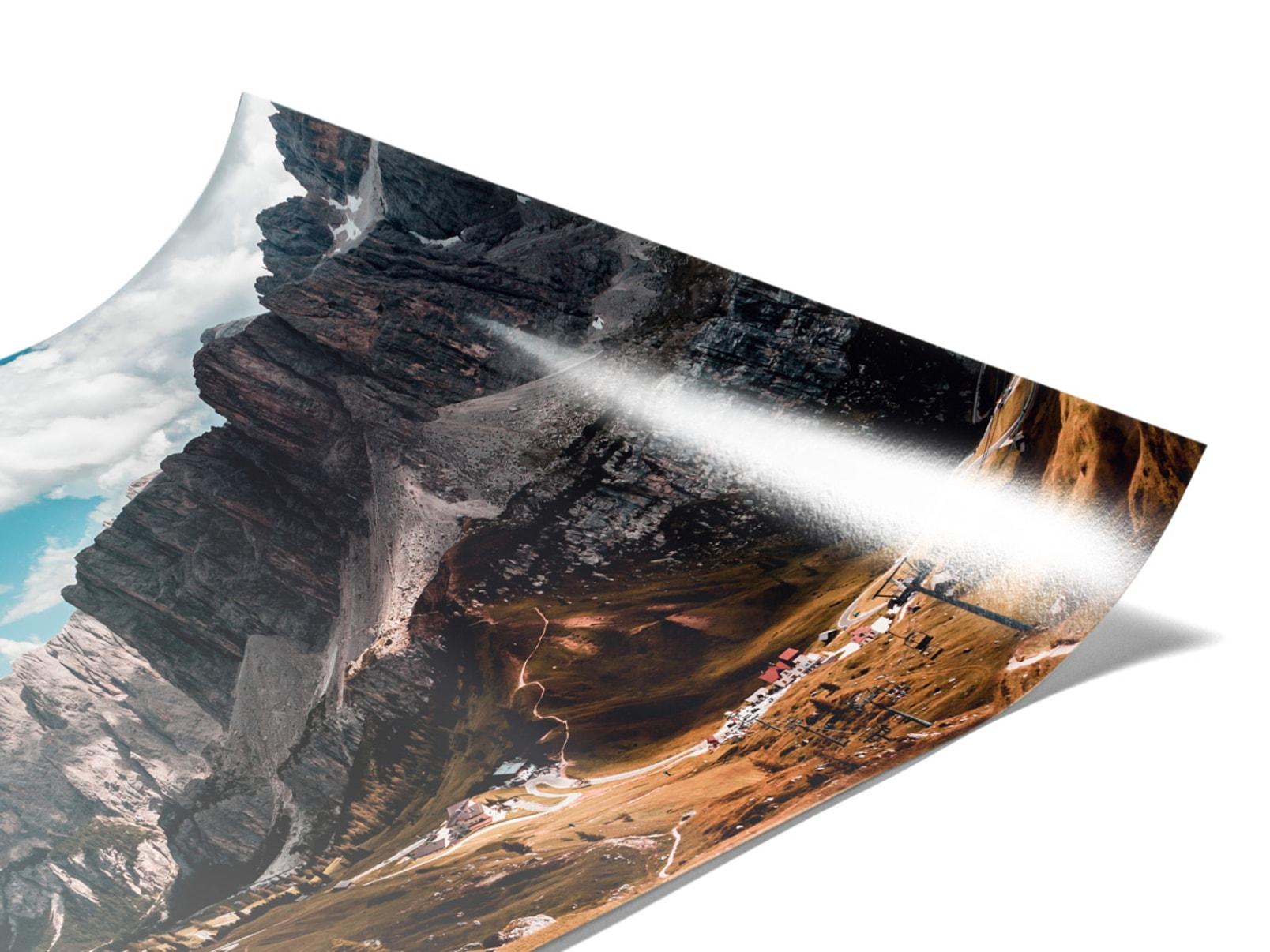 Lambda Print On Fuji Crystal DP II
