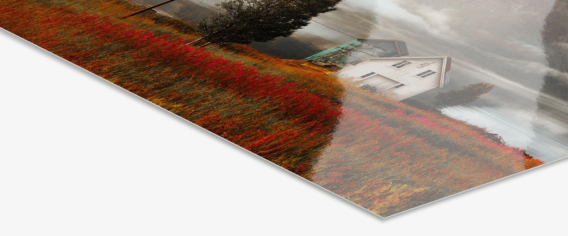 Original Photo Print Under Matte Acrylic Glass, Photo Paper: Fuji Crystal DP II