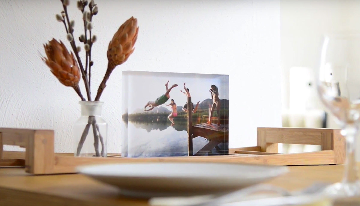 Showing Off Your Photos Behind An Inch Of Glossy Acrylic Glass