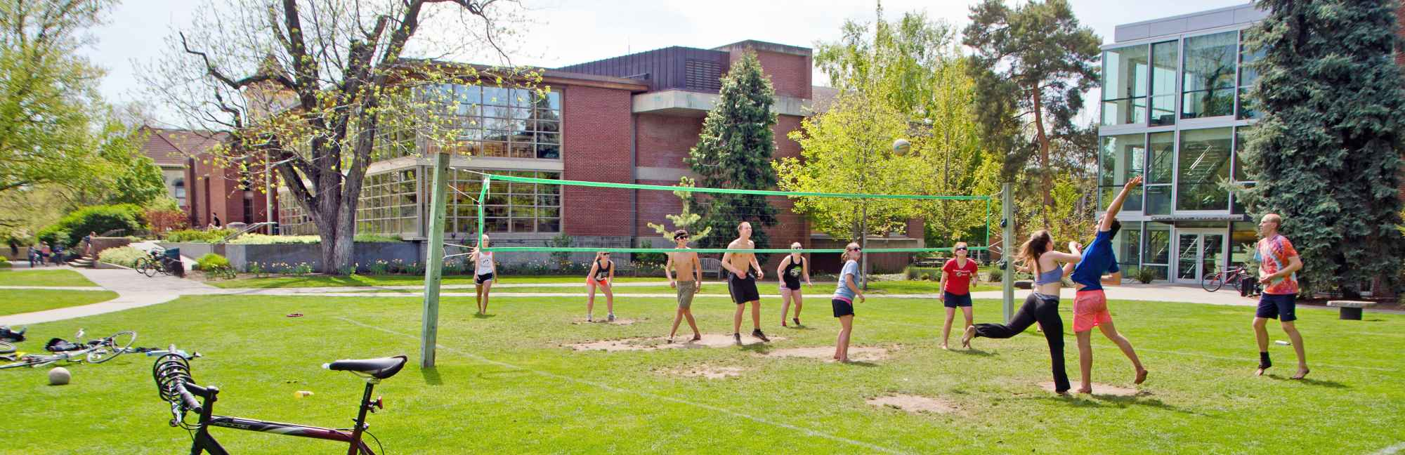 Volleyball on Ankeny Field