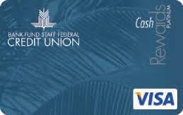 Bank Fund Staff Federal Credit Union Platinum Cash Rewards