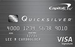 Capital One® Quicksilver® Cash Rewards Credit Card