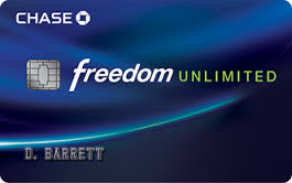 Chase Freedom Unlimited<sup>SM</sup>