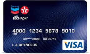 Chevron Texaco Card