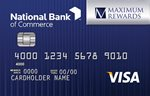 National Bank of Commerce Maximum Rewards Visa