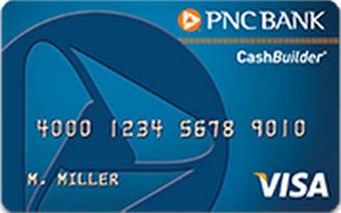 PNC Cashbuilder Credit Card