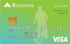 Regions Bank Student with Rewards