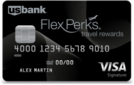 U.S. Bank FlexPerks® Travel Rewards Visa Signature® Card Bonus FlexPoints