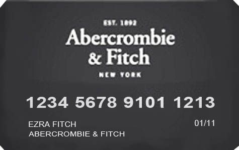 Abercrombie & Fitch Credit Card