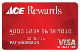 Ace Rewards Credit Card