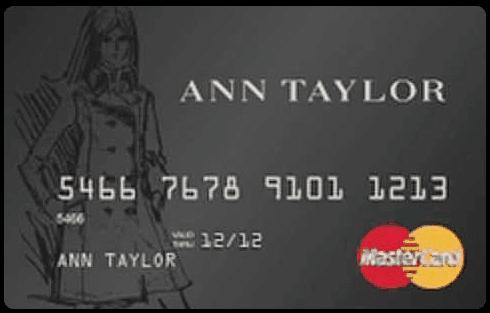 Ann Taylor Store Card