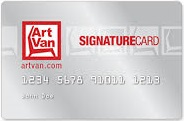 Art Van Furniture Credit Card