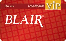 Blair Credit Card