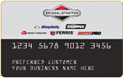 Briggs & Stratton Credit Card