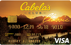 Cabela's CLUB Credit Card