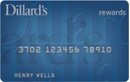 Dillard's Store Card