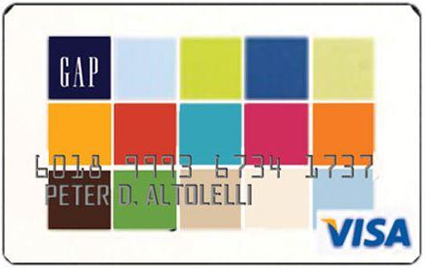 GAP Store Card