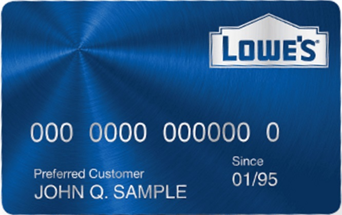 Lowe's Store Card