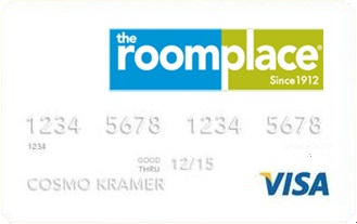 RoomPlace Credit Card